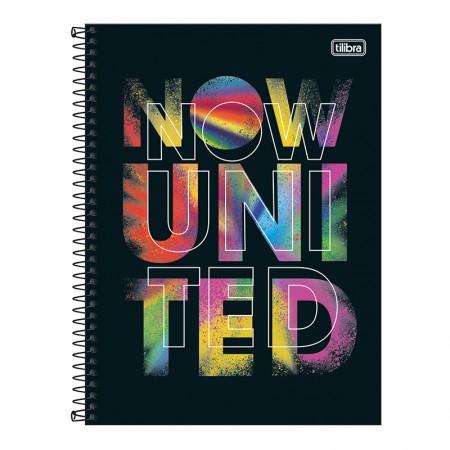Caderno espiral capa dura universitário 10x1 - 160 folhas - Now United - 2 - Tilibra