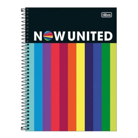 Caderno espiral capa dura universitário 1x1 - 80 folhas - Now United - 3 - Tilibra