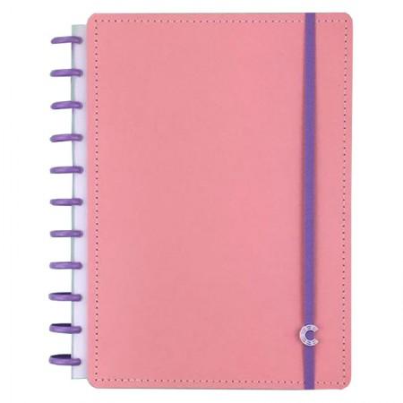 Caderno inteligente grande Rosê G+ - CIGDP4004