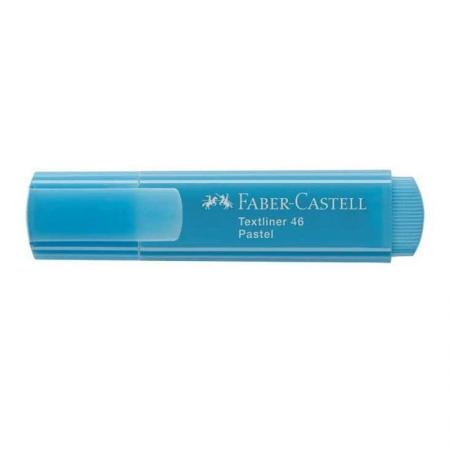 Pincel marca texto Textliner 46 - Azul pastel- MT/1546AZ - Faber-Castell