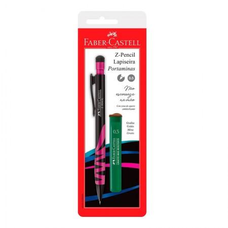 Lapiseira 0.5mm Z-Pencil - SM/05ZPMIX - com 1 unidade - Faber-Castell