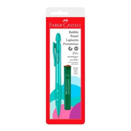 Lapiseira 0.5mm Bubble - Verde água pastel - SM/05BBVA - Faber-Castell