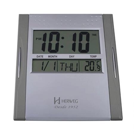 Relógio de parede digital 6474 - Herweg