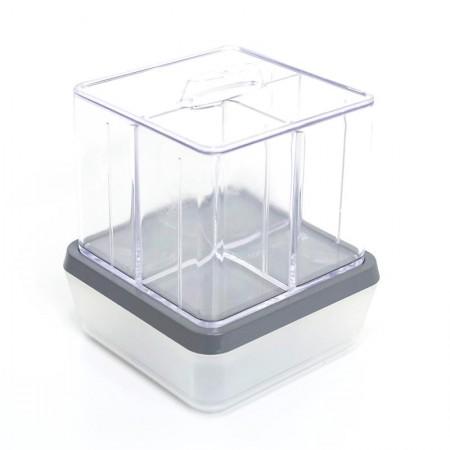 Organizador combo soul + porta algodão cristal grafite 3091.HG1 - Dello