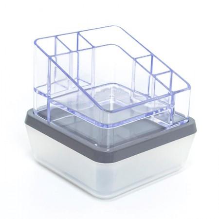 Organizador combo soul + compacto cristal grafite 3090.HG1 - Dello