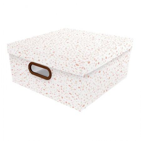 Caixa organizadora grande granilite rosa - 2312.03 - Dello