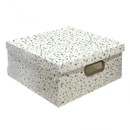 Caixa organizadora grande granilite verde - 2312.02 - Dello
