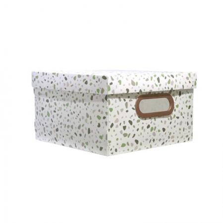 Caixa organizadora média granilite verde - 2311.02 - Dello