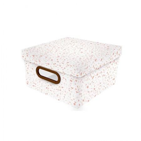 Caixa organizadora pequena granilite rosa - 2310.03 - Dello