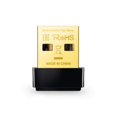 Adaptador USB AC600 mbps Archer T2U NANO - TP-Link