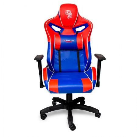 Cadeira Gamer Super Hero vermelho/azul CH06RDBE Elg