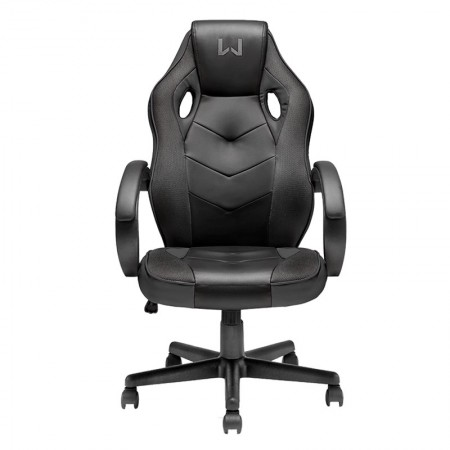 Cadeira clean giratória preta GA181 - Multilaser