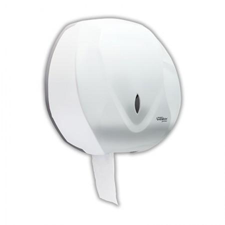 Suporte velox para papel higiênico rolão branco C19650 - Premisse