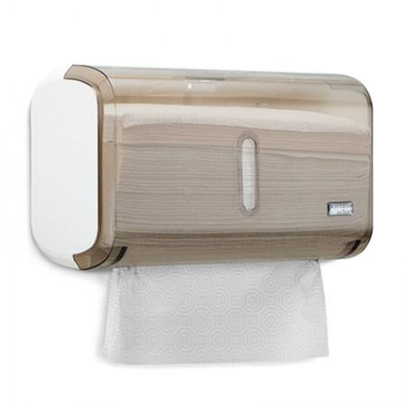 Toalheiro urban compacto fumê para papel toalha C19833 - Premisse