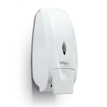 Saboneteira branca velox com reservatório 800ml - C19428 - Premisse