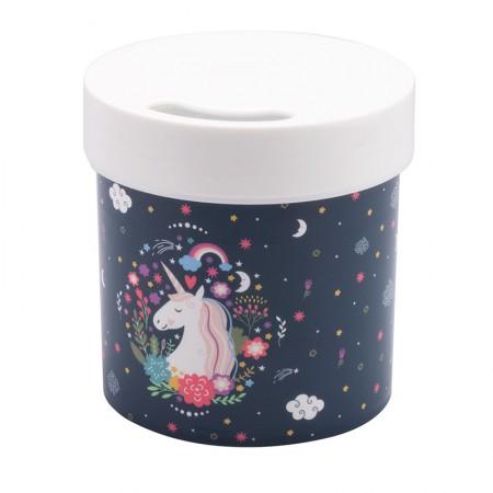 Porta lenço de papel higiênico Unicórnio - 13143 - Plasutil