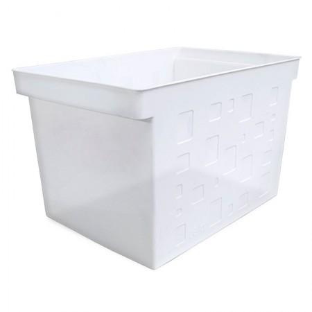 Caixa organizadora larga multiuso protêa - cristal - 0335.H - Dello