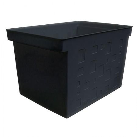 Caixa organizadora larga multiuso protêa - preto - 0335.P - Dello