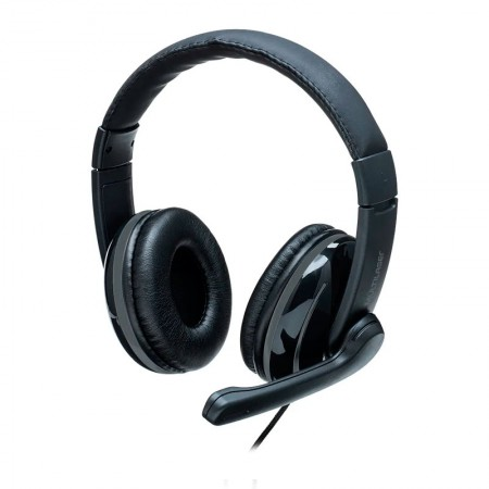 Headset USB preto e cinza - PH317 - Multilaser