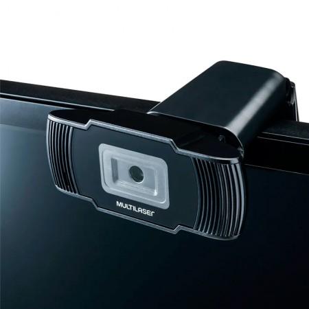 Câmera webcam office usb HD 720p - AC339 - Multilaser