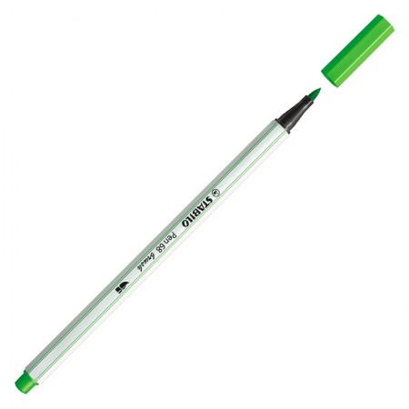 Caneta pincel Pen Brush Aquarelável - 568/43 - Verde Folha - Stabilo