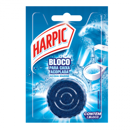 Harpic para caixa acoplada Azul Fresh 50g - Reckitt Benckiser