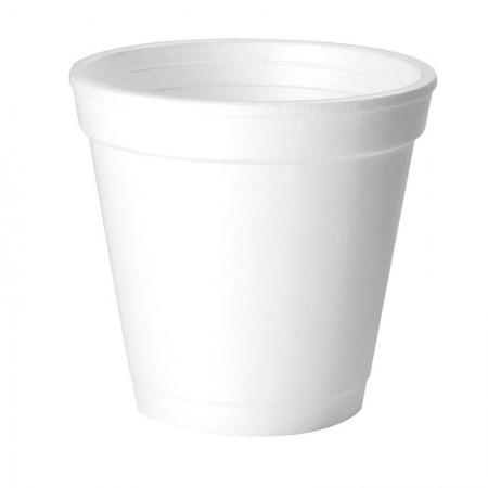 Copo de papel branco descartável 300ml 50und Azevedo