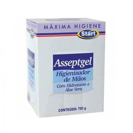 Sabonete líquido Asseptgel refil sem aroma - 800ml - Start Quimica
