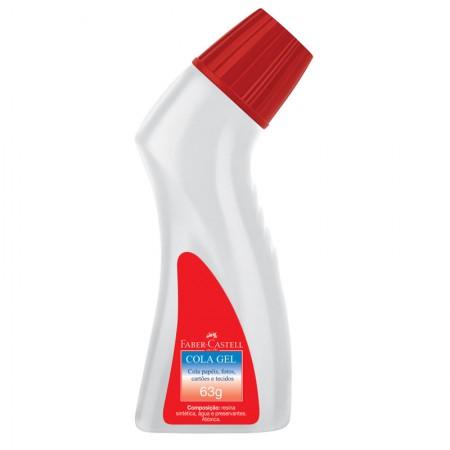 Cola gel frasco ergonômico 63g - SM/8165GEL - Faber-Castell