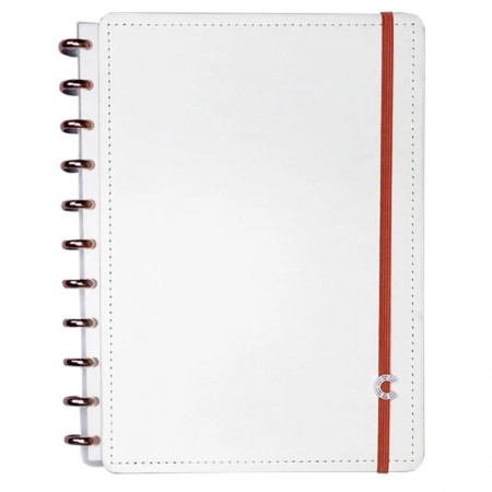 Caderno inteligente grande All White - CIGD4062