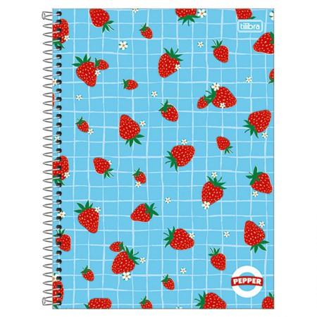 Caderno espiral capa dura universitário 1x1 - 80 folhas - Simpsons - 4 - Tilibra