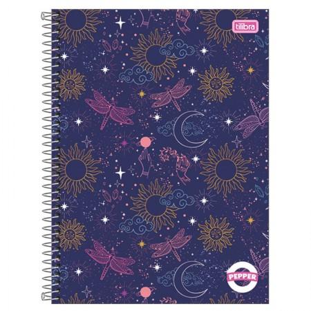 Caderno espiral capa dura universitário 1x1 - 80 folhas - Simpsons - 2 - Tilibra