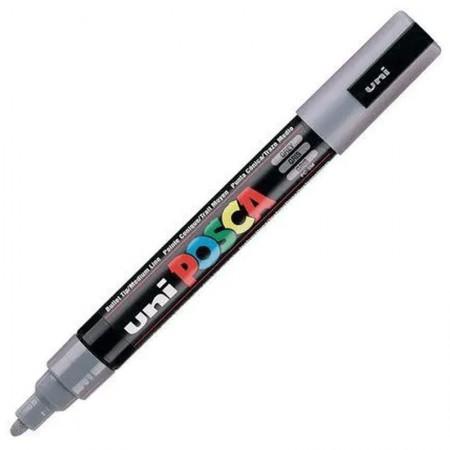 Caneta Posca PC-5M - cinza ardósia - Uni-Ball