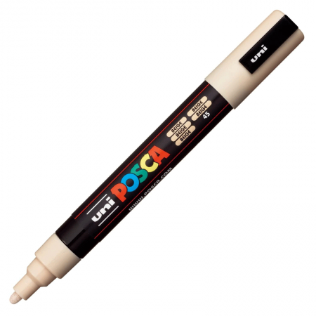 Caneta Posca PC-5M - bege - Uni-Ball