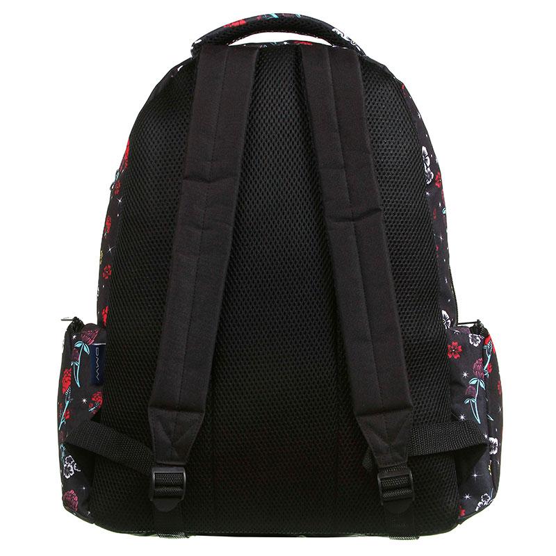 Mochila escolar grande sem roda - 11868/20 - Capricho Liberty Black - DMW