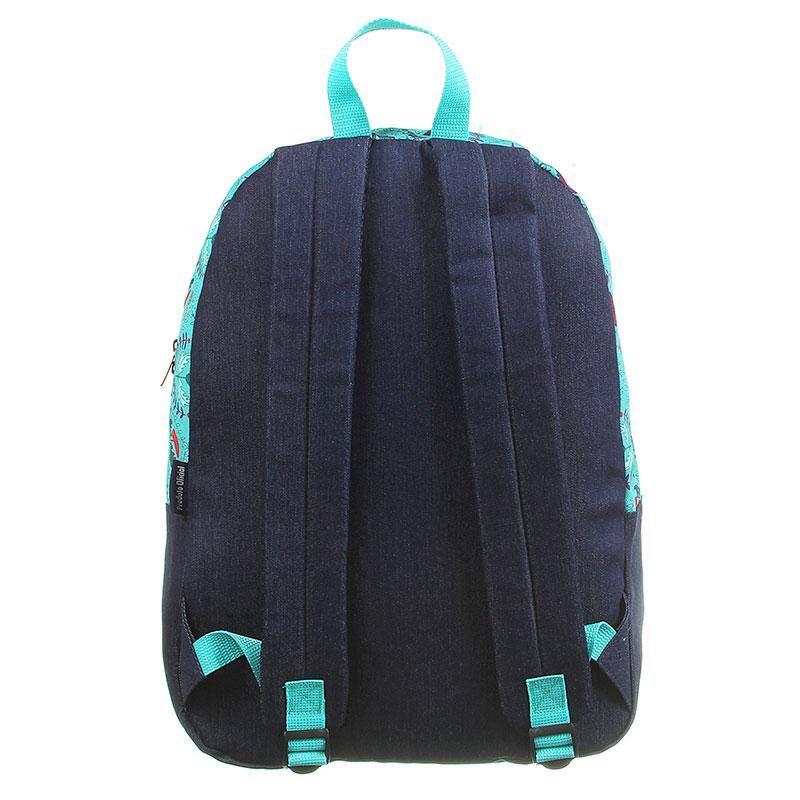 Mochila escolar grande sem roda - 11922/20 - Capricho Boho Green - DMW