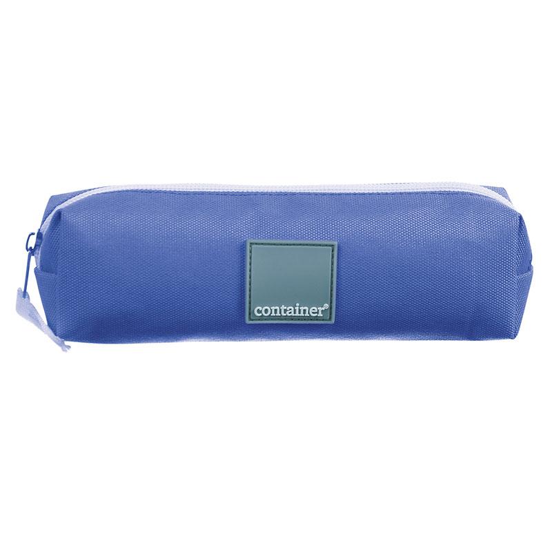 Estojo escolar com ziper - 37631/20 - Container Lilás - Dermiwil