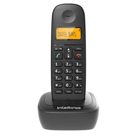 Telefone sem fio com identificador preto - TS2510 - Intelbras
