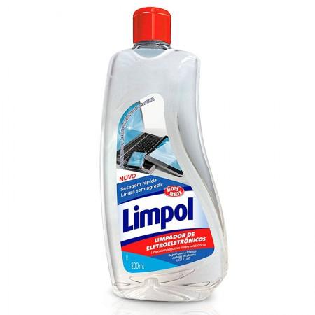 Limpador de eletroeletrônicos limpol 200ml - Bombril