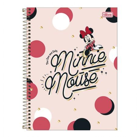 Caderno espiral capa dura universitário 1x1 - 80 folhas - Minnie - 1 - Tilibra