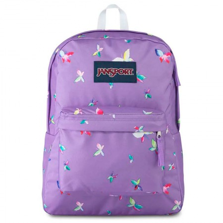 Mochila escolar Superbreak Purple Dawn Butterfly Kisses - T50161J - Jansport
