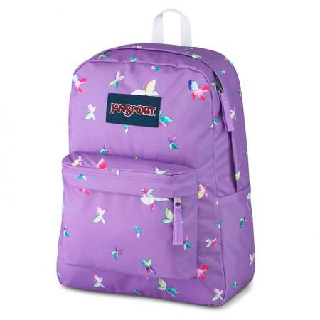 Mochila escolar Superbreak Purple Dawn Butterfly Kisses - T50161J - Jansport