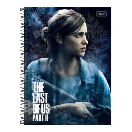 Caderno espiral capa dura universitário 10x1 - 160 folhas - The Last of Us - Capa 1 - Tilibra