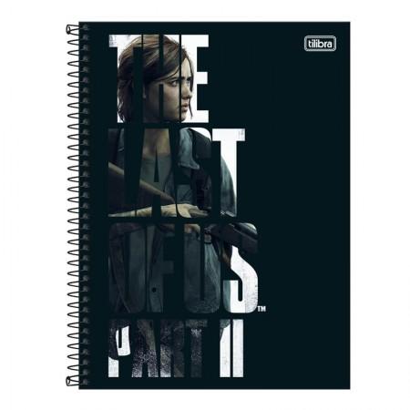 Caderno espiral capa dura universitário 10x1 - 160 folhas - The Last of Us - Capa 2 - Tilibra