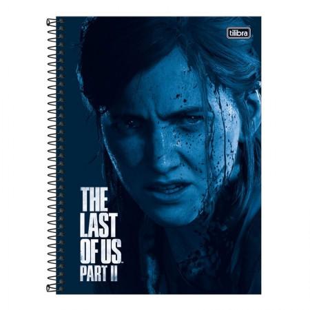 Caderno espiral capa dura universitário 10x1 - 160 folhas - The Last of Us - Capa 3 - Tilibra