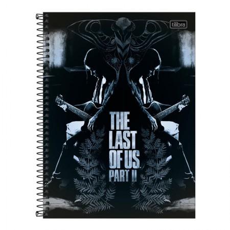 Caderno espiral capa dura universitário 10x1 - 160 folhas - The Last of Us - Capa 4 - Tilibra