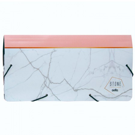 Porta documento stone rosa - 0682.W - 235x125mm - Dello