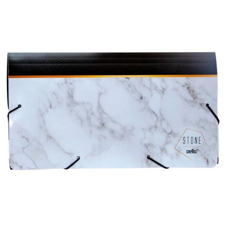 Porta documento stone preto - 0682.P - 235x125mm - Dello