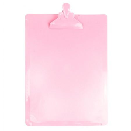 Prancheta ofício Dellocolor - rosa pastel - 3006.WP - Dello