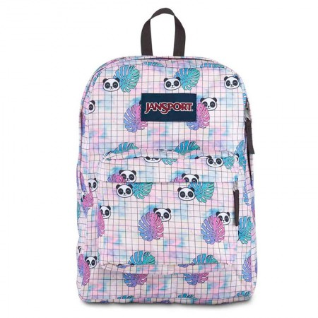 Mochila escolar Superbreak Hide and Seek Panda - T50168X - Jansport
